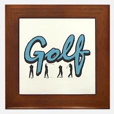 Golf4 Framed Tile