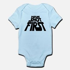 Han Shot First Infant Bodysuit