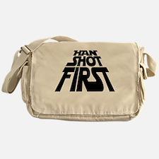 Han Shot First Messenger Bag