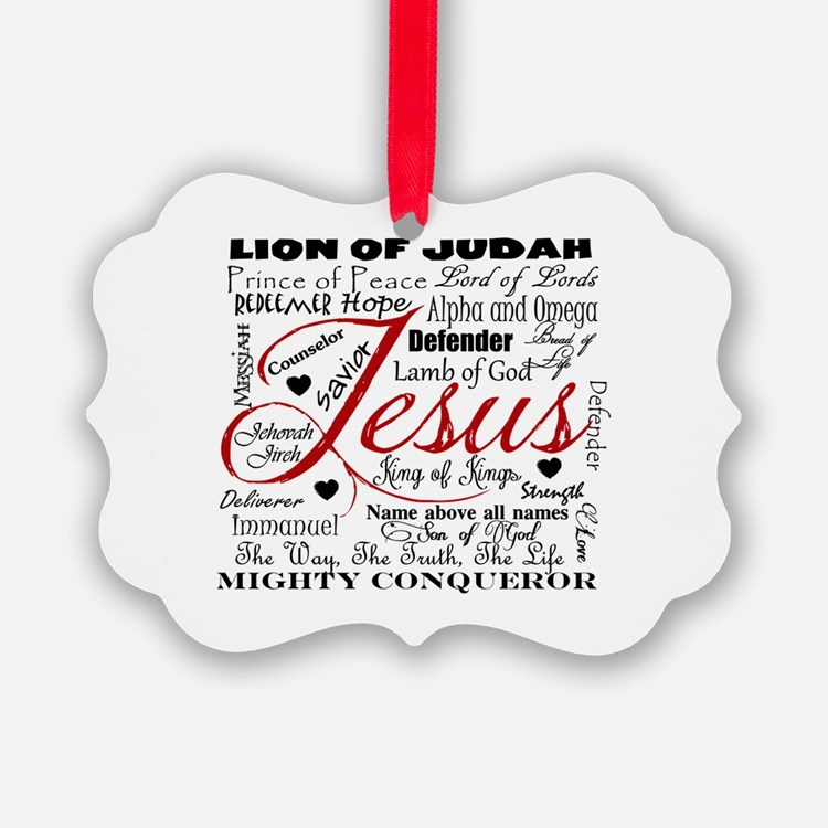 The Name of Jesus Ornament