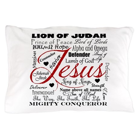 The Name of Jesus Pillow Case