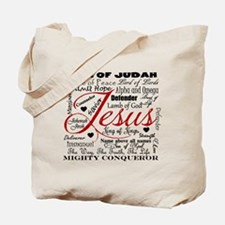 The Name of Jesus Tote Bag