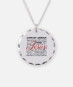 The Name of Jesus Necklace