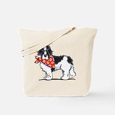 Landseer Newfie Sailor Tote Bag