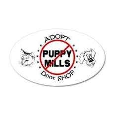 Adopt Don't Shop Wall Decal