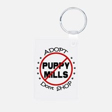 Adopt Don't Shop Keychains