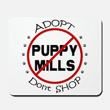 Adopt Don't Shop Mousepad