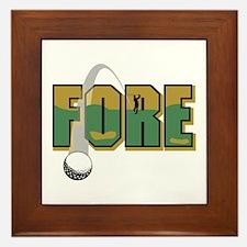 Golf6 Framed Tile