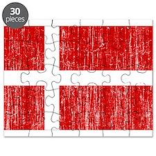 Denmark Flag Puzzle