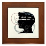 Revolutions Start Here Graphic Framed Tile