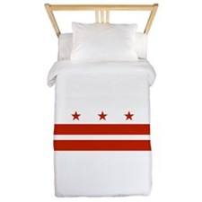 District of Columbia Flag Twin Duvet