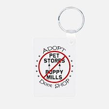 Adopt Don't Shop Keychains