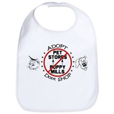 Adopt Don't Shop Bib