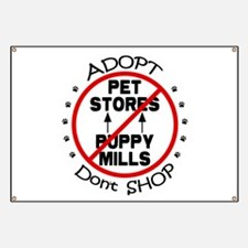 Adopt Don't Shop Banner