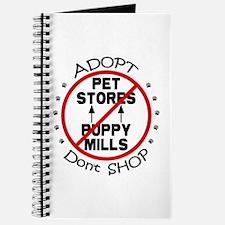 Adopt Don't Shop Journal