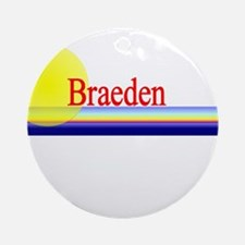 Braeden Ornament (Round)