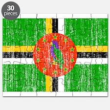 Dominica Flag Puzzle