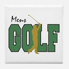 Golf12 Tile Coaster