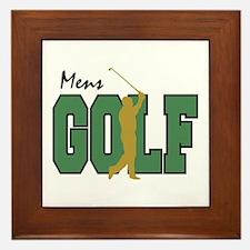 Golf12 Framed Tile