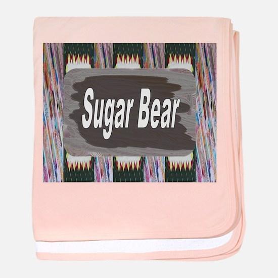 Maternity ~ Sugar Bear baby blanket