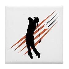 Golf13 Tile Coaster