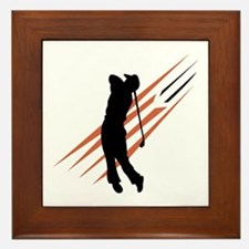 Golf13 Framed Tile