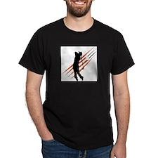Golf13 Black T-Shirt