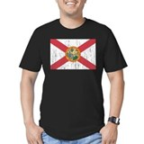Florida state flag Fitted T-shirts (Dark)