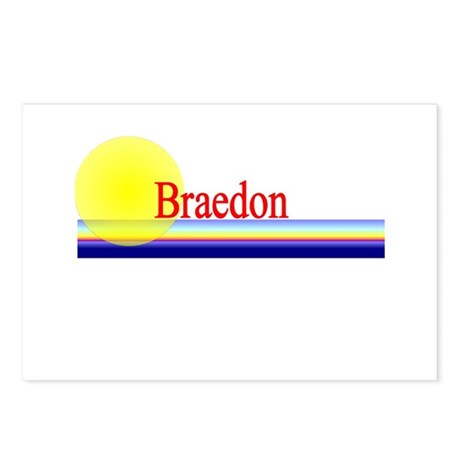 Braedon Postcards (Package of 8)