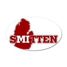 SMitten 35x21 Oval Wall Decal