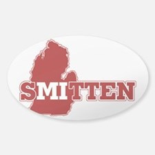 SMitten Sticker (Oval)