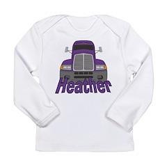 Trucker Heather Long Sleeve Infant T-Shirt