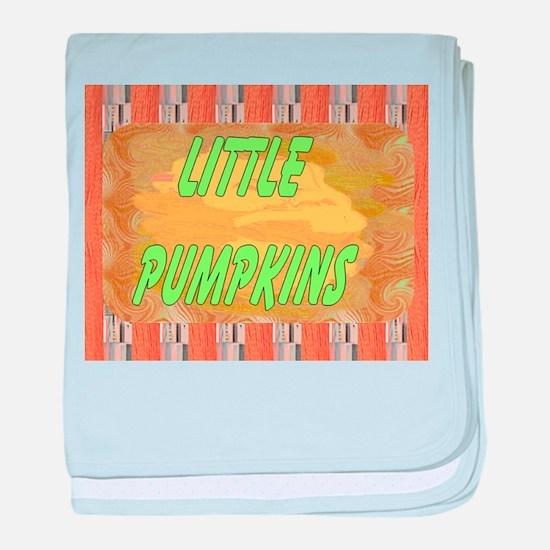 Maternity~Little Pumpkins baby blanket
