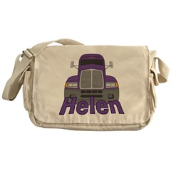 Trucker Helen Messenger Bag