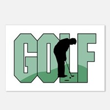 Golf16 Postcards (Package of 8)