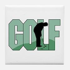 Golf16 Tile Coaster