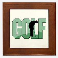 Golf16 Framed Tile
