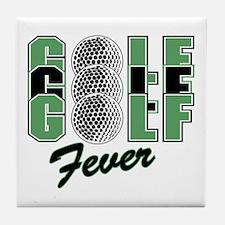 Golf17 Tile Coaster