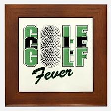 Golf17 Framed Tile