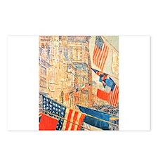 Famous Paintings: Celebration! Postcards (Package