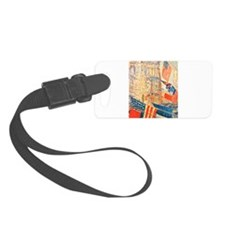Famous Paintings: Celebration! Luggage Tag