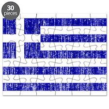 Greece Flag Puzzle