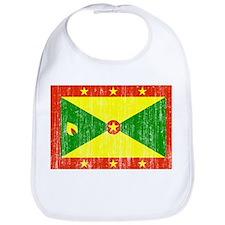 Grenada Flag Bib