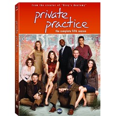 Private Practice: The Complete Fifth Season DVD