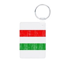 Hungary Flag Aluminum Photo Keychain