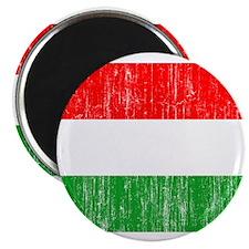 """Hungary Flag 2.25"""" Magnet (10 pack)"""