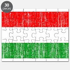 Hungary Flag Puzzle