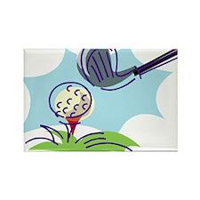 Golf24 Rectangle Magnet