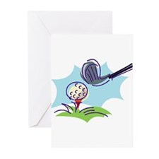 Golf24 Greeting Cards (Pk of 10)