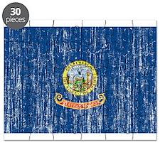 Idaho Flag Puzzle
